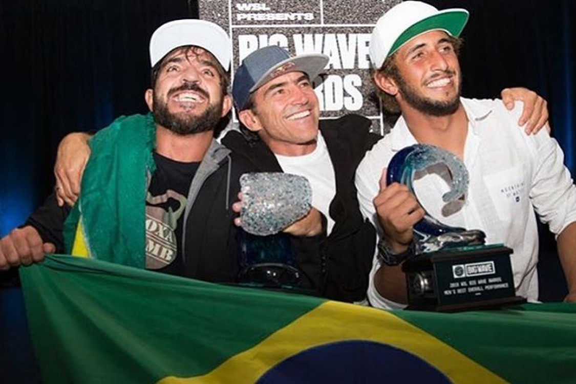 Atleta Teccel Lucas Chumbo vence o prêmio Men's Best Overall Performance XXL Big Wave Awards 2017/18